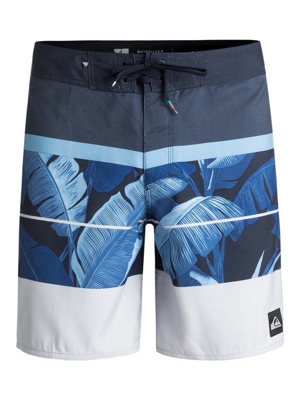 "0 Slab Island 17"" - Boardshorts Azul EQYBS03931 Quiksilver"