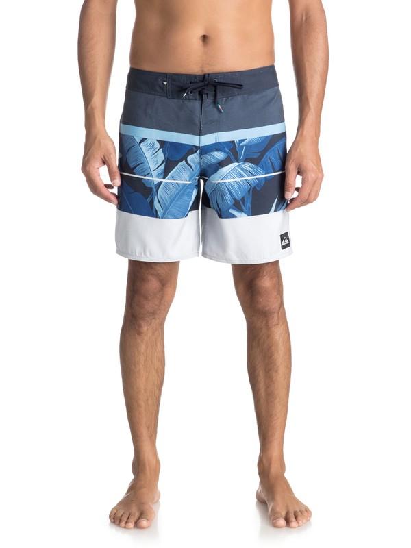 "0 Slab Island 17"" - Board Shorts Blue EQYBS03931 Quiksilver"
