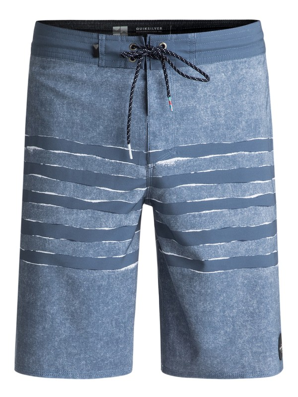 """0 Madhouse 20"""" Volley Boardshorts Blue EQYBS03932 Quiksilver"""