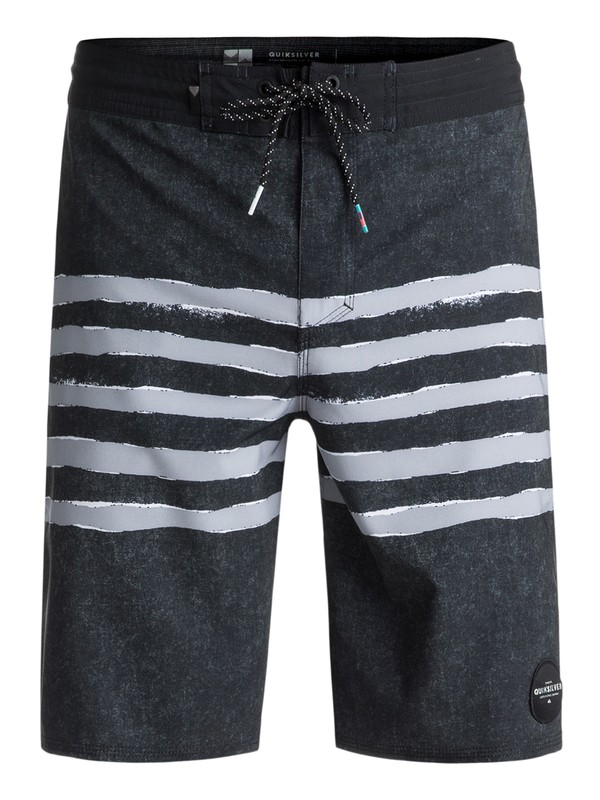 """0 Madhouse 20"""" Volley Boardshorts Black EQYBS03932 Quiksilver"""