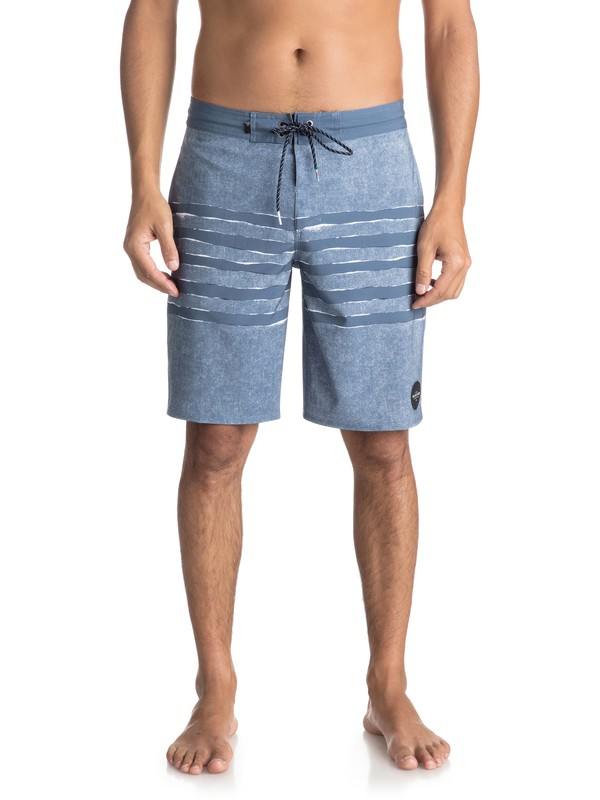 "0 Madhouse 20"" Volley Beachshorts Blue EQYBS03932 Quiksilver"