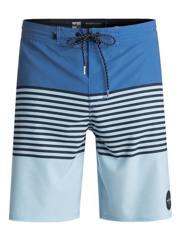 "0 Revolution 19"" Volley Boardshorts Blue EQYBS03934 Quiksilver"