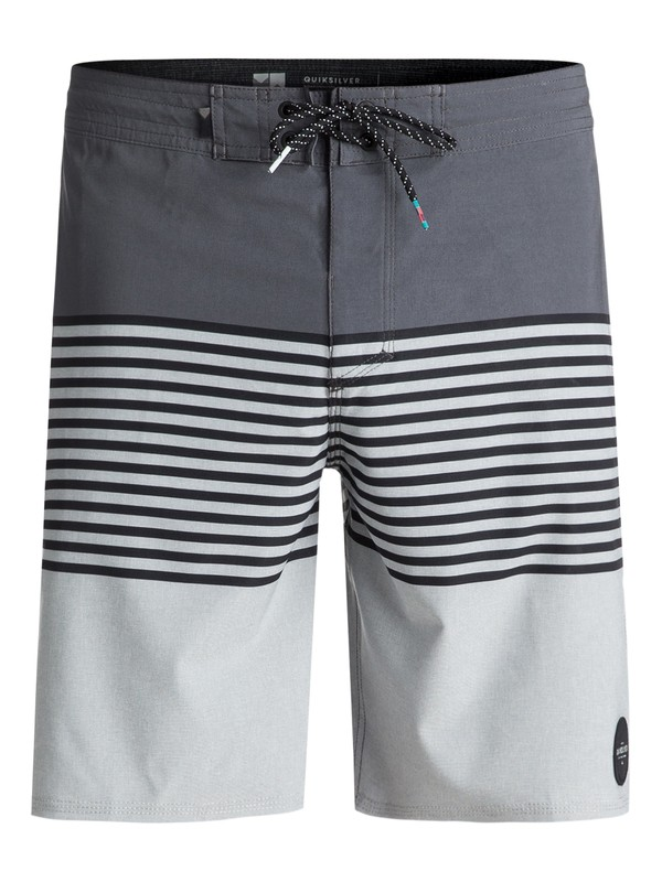 "0 Revolution 19"" Volley Boardshorts Black EQYBS03934 Quiksilver"