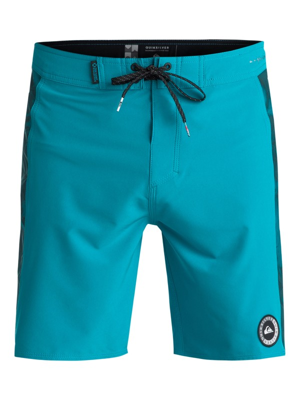 """0 Highline Lava Arch 18"""" Boardshorts Blue EQYBS03937 Quiksilver"""