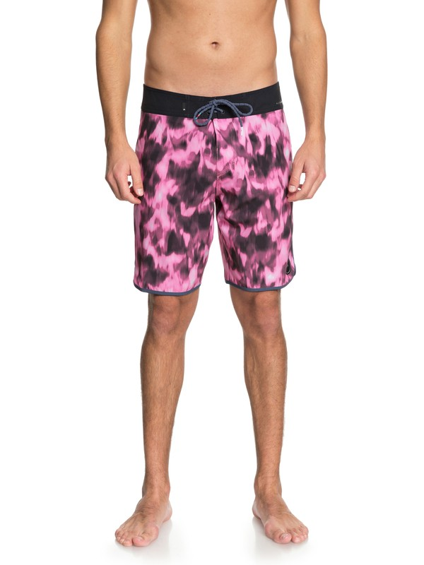 """0 Highline Recon 19"""" - Boardshorts Pink EQYBS03943 Quiksilver"""