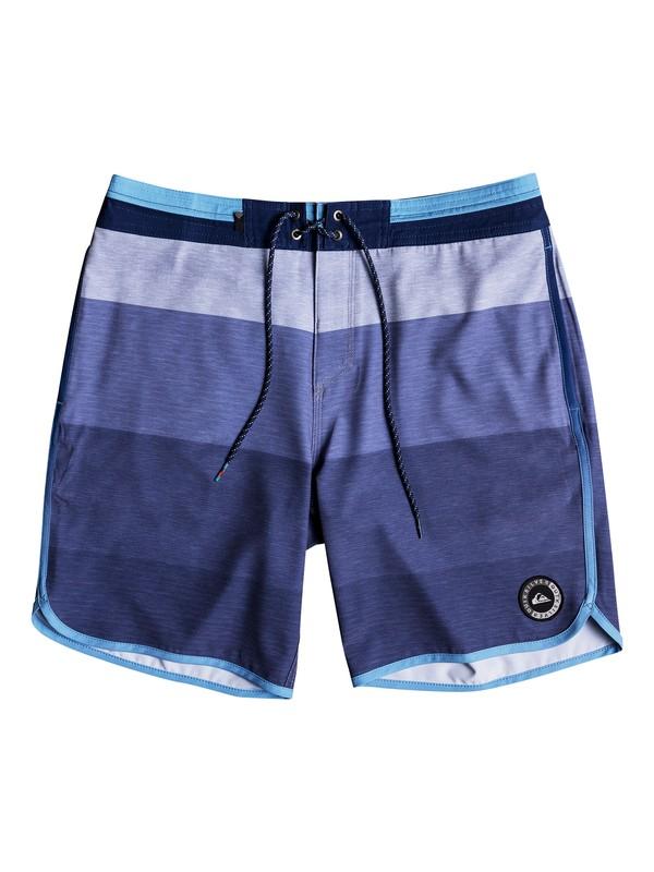 """0 Men's Vista 19"""" Beach Shorts Blue EQYBS03964 Quiksilver"""