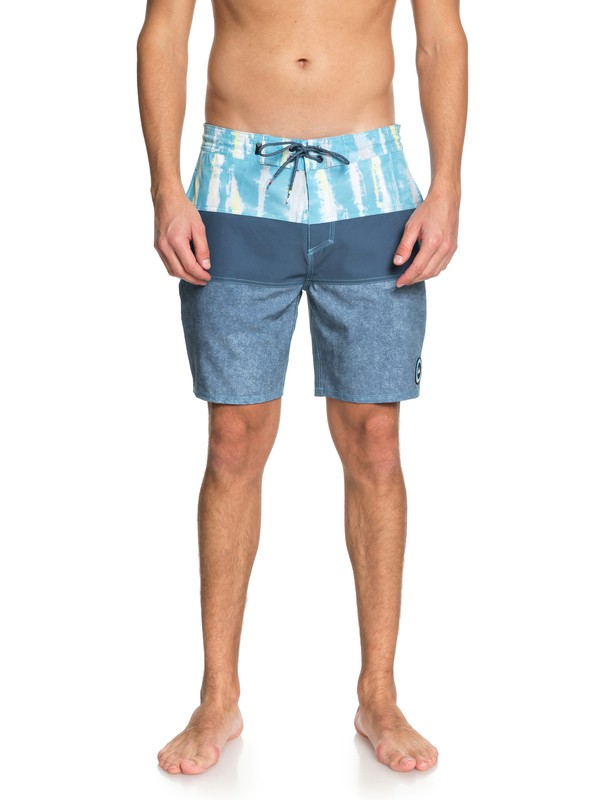 "0 Fortune 18"" - Beach Shorts Blue EQYBS03978 Quiksilver"