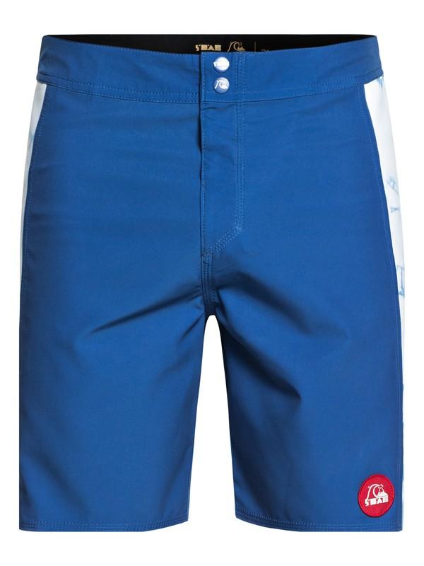 "0 STAB Highdye 18"" - Board Shorts Blue EQYBS03994 Quiksilver"