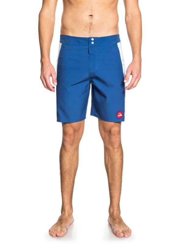 "0 STAB Highdye 18"" - Board Shorts Blue EQYBS03994 Quiksilver"
