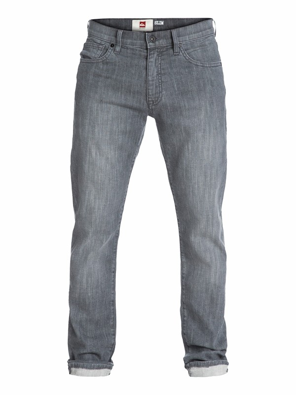 "0 Distorsion Slim Fit Jeans, 32"" Inseam  EQYDP03003 Quiksilver"