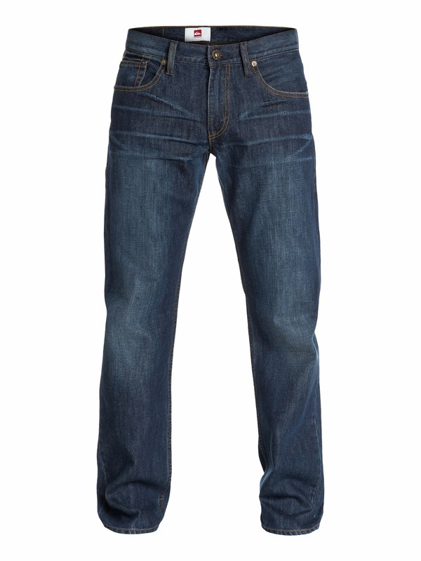 "0 Sequel Aged Regular Fit Jeans, 32"" Inseam  EQYDP03010 Quiksilver"
