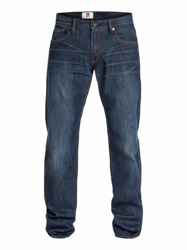 "0 Sequel Aged Regular Fit Jeans, 34"" Inseam  EQYDP03025 Quiksilver"