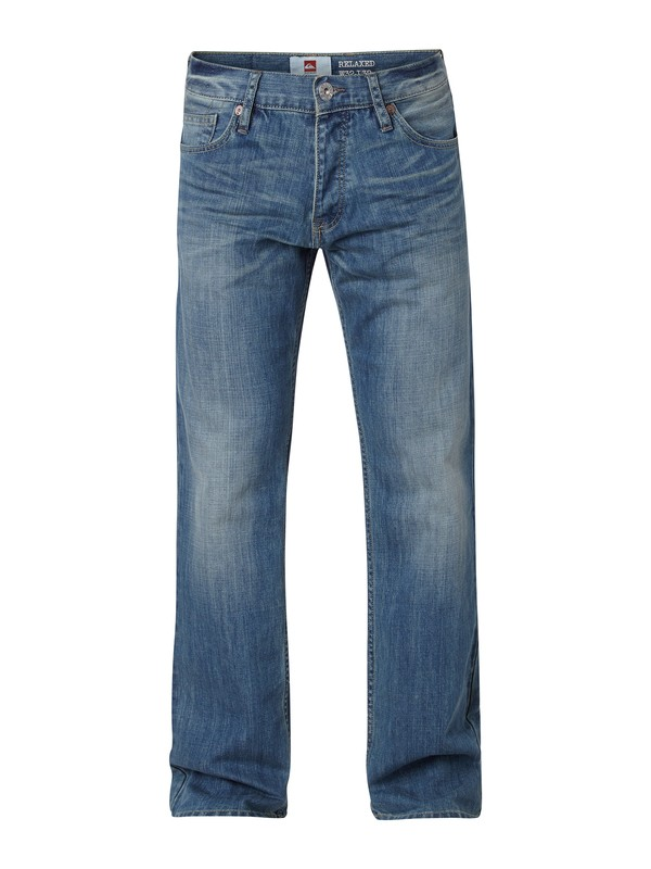"0 Buster Vintage Relaxed Fit Jeans, 30"" Inseam  EQYDP03043 Quiksilver"