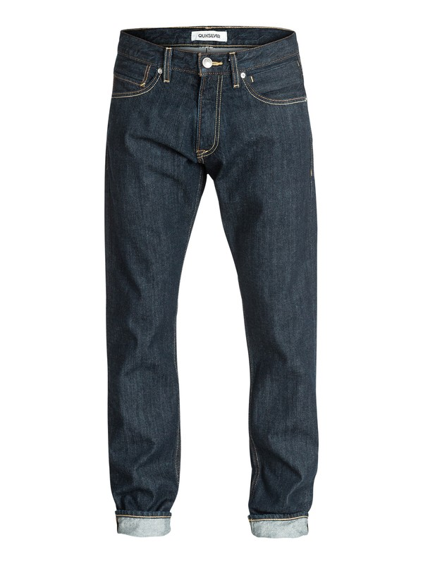 "0 Revolver Rinse 32"" Straight Fit Jeans  EQYDP03063 Quiksilver"