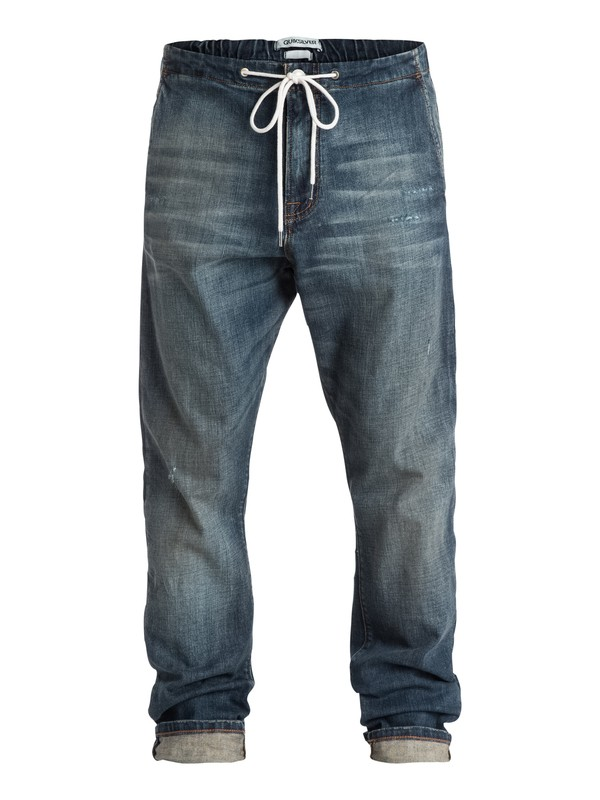 0 Bradfonic Straight Tapered-Fit Jeans  EQYDP03131 Quiksilver
