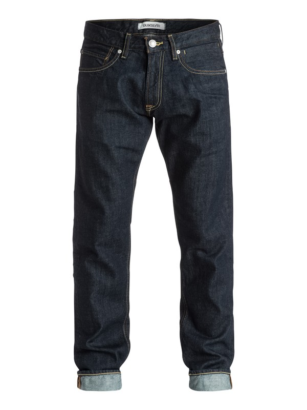 "0 Revolver Rinse 30"" Straight-Fit Jeans  EQYDP03157 Quiksilver"
