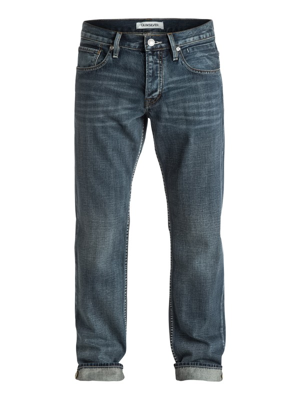 "0 Sequel Vintage Cracked 30"" Regular-Fit Jeans  EQYDP03158 Quiksilver"