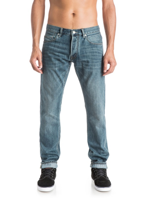 """0 Revolver Best 32"""" - Jean coupe straight  EQYDP03185 Quiksilver"""