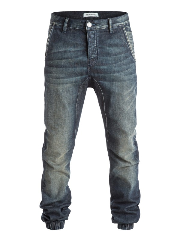 0 The Fonic Fix - Jean coupe straight  EQYDP03192 Quiksilver