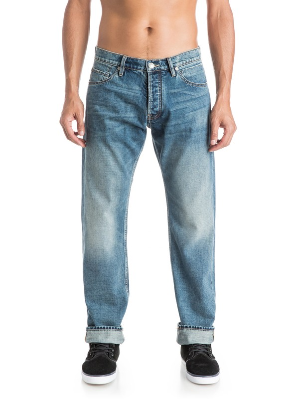 """0 High Force Elder 34"""" - Jean coupe relaxed  EQYDP03203 Quiksilver"""