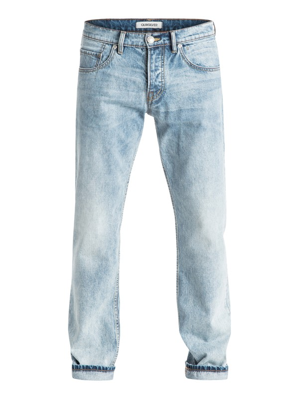 "0 Sequel Dustbowl 34"" - Jean coupe regular Bleu EQYDP03210 Quiksilver"
