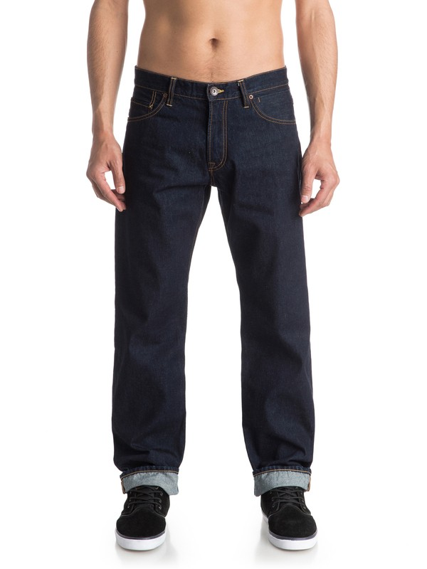 """0 High Force Rinse 32"""" - Jean ample  EQYDP03225 Quiksilver"""
