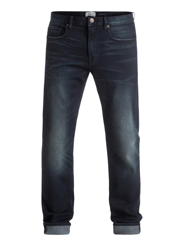 "0 Revolver Dark Blue 34"" - Jean coupe droite Noir EQYDP03259 Quiksilver"