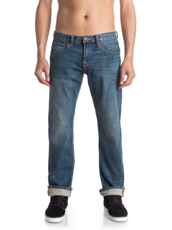 "0 Sequel Medium Blue 34"" - Jean regular  EQYDP03263 Quiksilver"