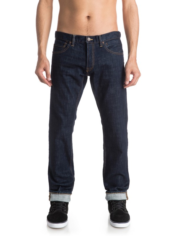 "0 Revolver Rinse 30"" Straight Fit Jeans  EQYDP03290 Quiksilver"