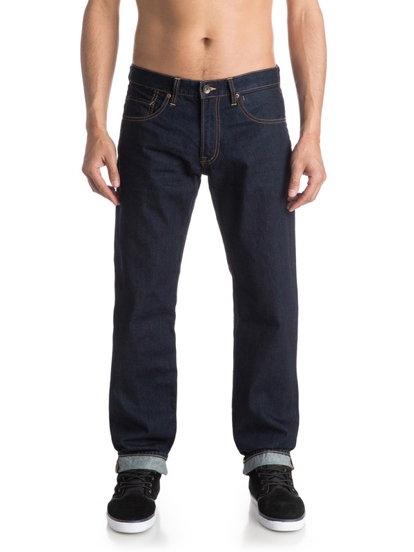 "0 Sequel Rinse 30"" Regular Fit Jeans  EQYDP03292 Quiksilver"