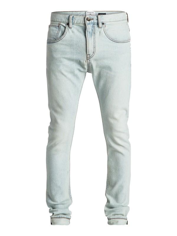 0 Low Bridge Bleached - Jean skinny Bleu EQYDP03306 Quiksilver
