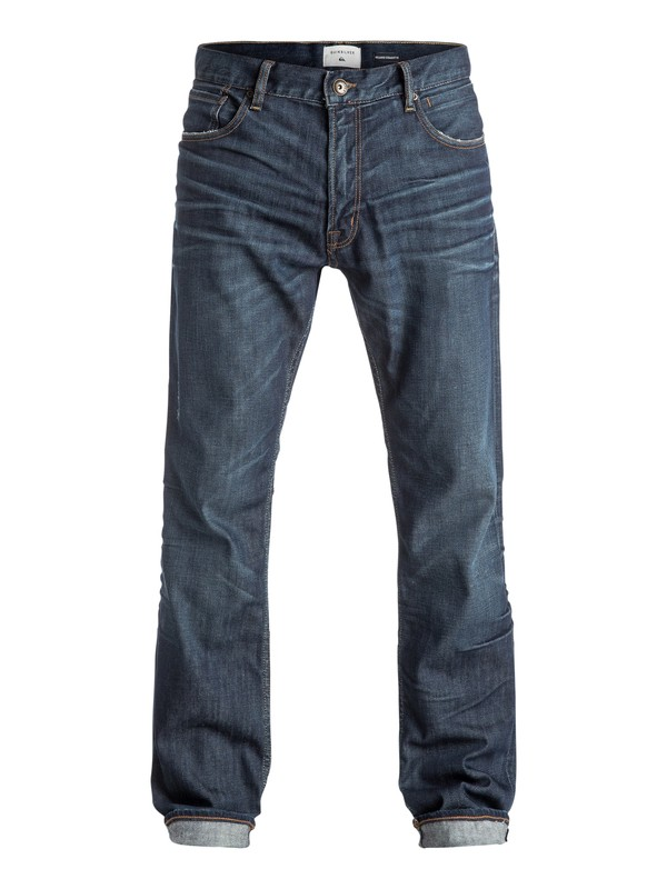 0 The Avalon Agy Blue - Jean ample Bleu EQYDP03307 Quiksilver