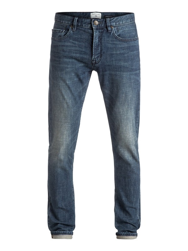 0 Distorsion Neo Elder - Jean coupe slim Bleu EQYDP03333 Quiksilver