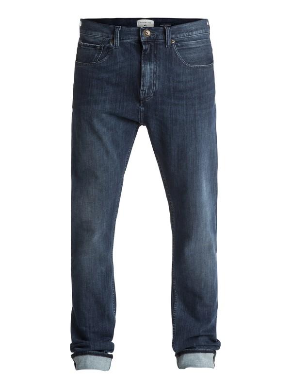 0 Low Bridge Mineral Blue - Jean skinny Bleu EQYDP03339 Quiksilver