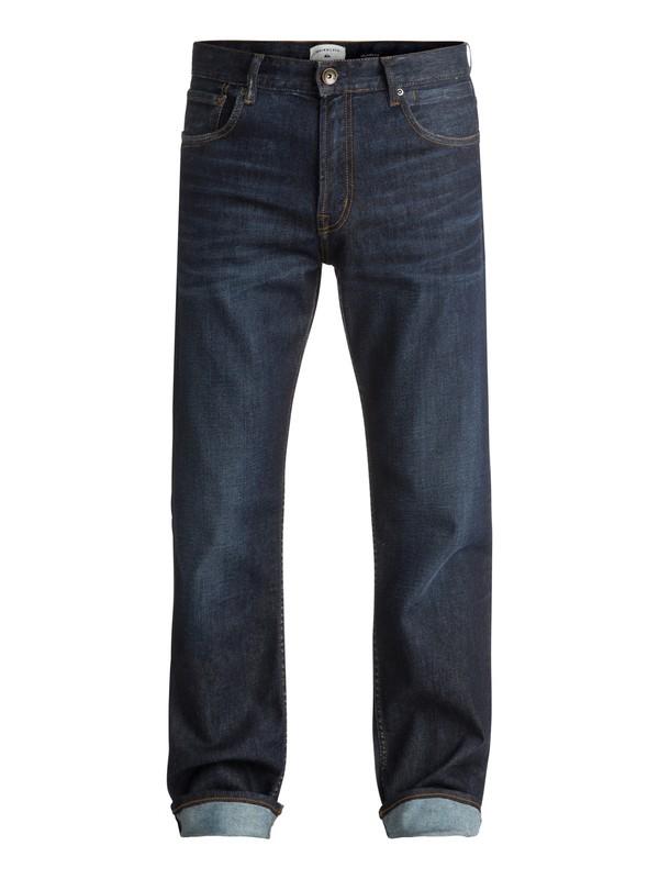 0 High Force Blue Glass - Jean ample Bleu EQYDP03342 Quiksilver