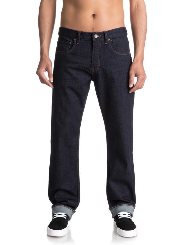 0 Sequel Rinse Regular Fit Jeans Blue EQYDP03347 Quiksilver