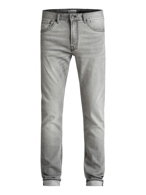 0 Distorsion Iron - Jean slim Noir EQYDP03351 Quiksilver