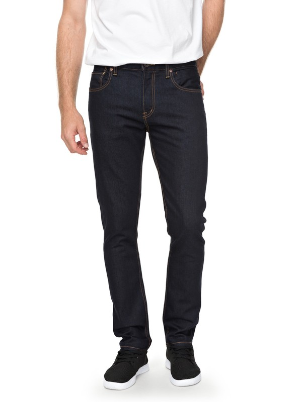 0 Distorsion Rinse - Jean slim Bleu EQYDP03363 Quiksilver