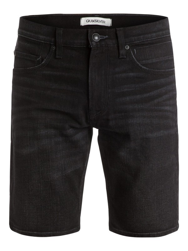 0 Distortion Black Rinse - Jean slim fit  EQYDS03022 Quiksilver