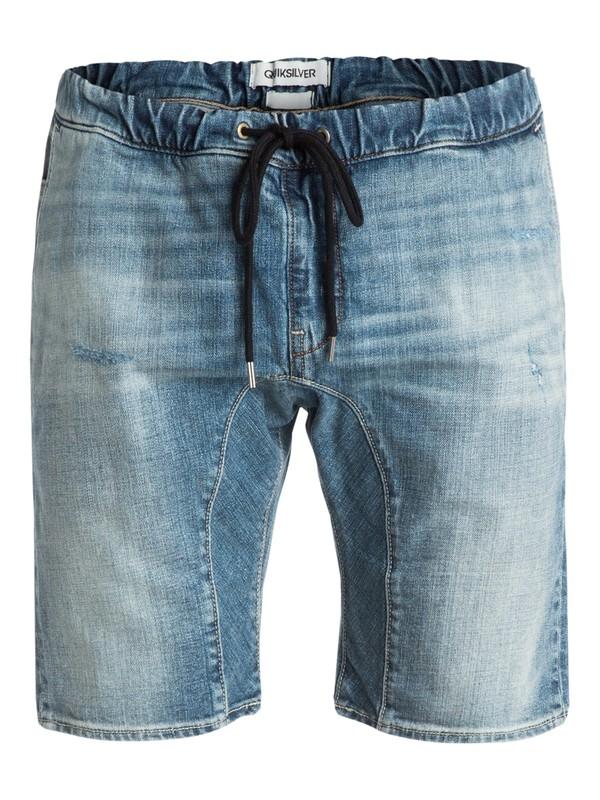 "0 Fonic 19"" Denim Shorts  EQYDS03023 Quiksilver"