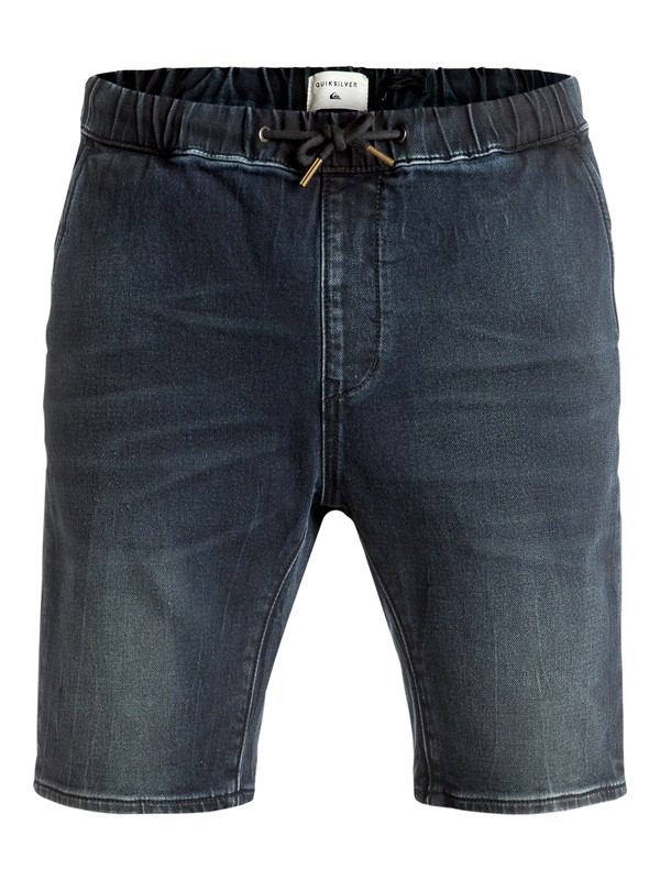 0 Fonic Blue Black - Short en denim Bleu EQYDS03067 Quiksilver