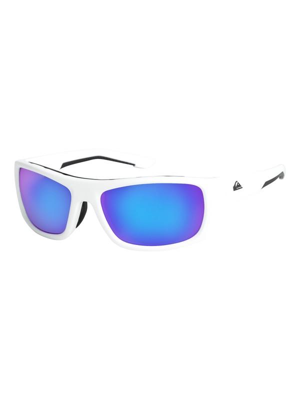 0 Knockout - Sunglasses White EQYEY03072 Quiksilver