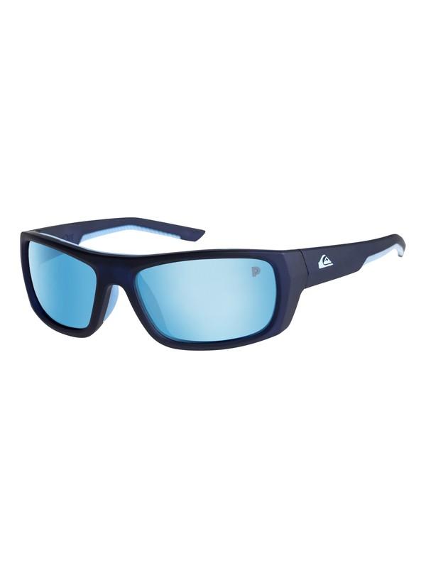 0 Knockout Polarised - Lunettes de soleil Bleu EQYEY03073 Quiksilver