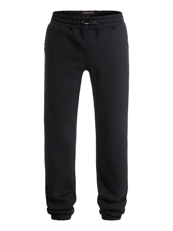 0 Active - Pantalon en Molleton Noir EQYFB03056 Quiksilver