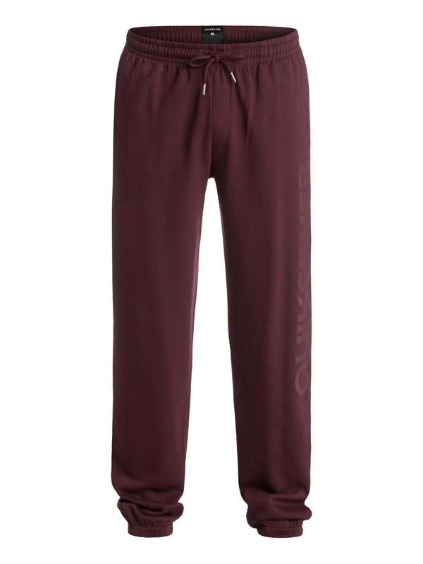 0 Screen - Pantalon en Molleton Rouge EQYFB03057 Quiksilver