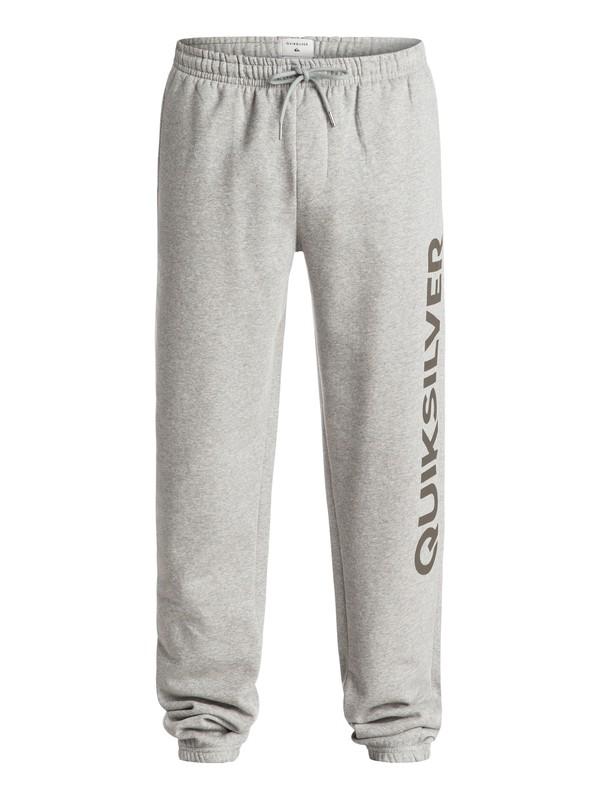 0 Screen - Pantalon en Molleton Gris EQYFB03057 Quiksilver