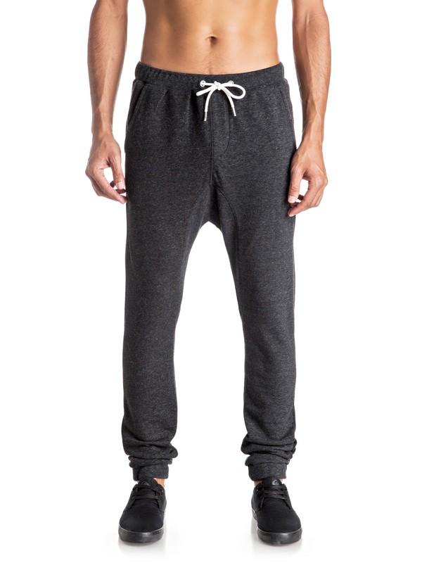0 Everyday Fonic - Pantalon en Molleton Noir EQYFB03063 Quiksilver