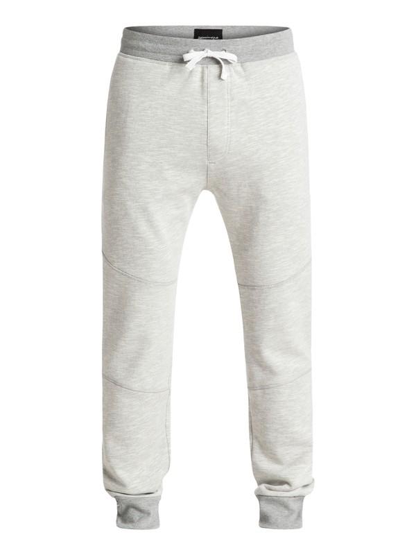 0 No Army - Pantalon en Molleton Gris EQYFB03065 Quiksilver