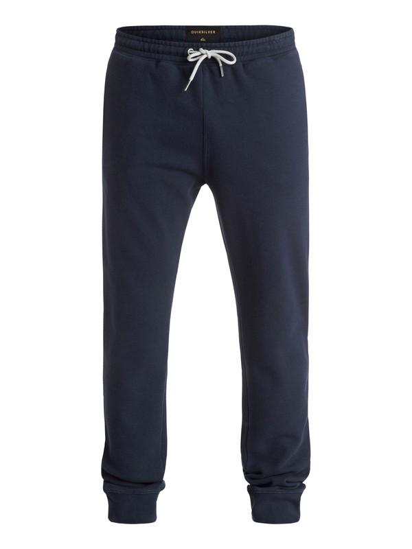 0 Strange Night - Pantalon en Molleton Bleu EQYFB03071 Quiksilver