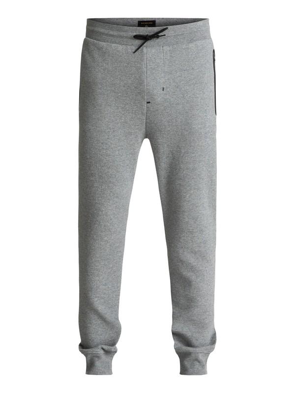 0 Kurow - Pantalon de jogging technique Gris EQYFB03110 Quiksilver